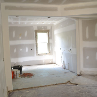 401 Kitchen Drywall
