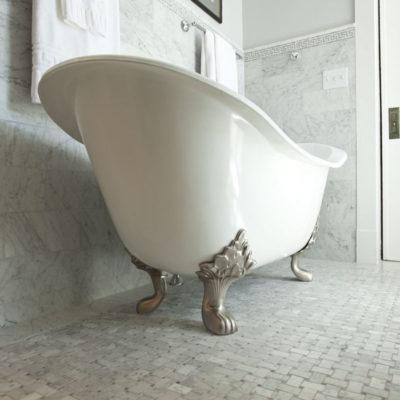 Master Tub Claw Detail
