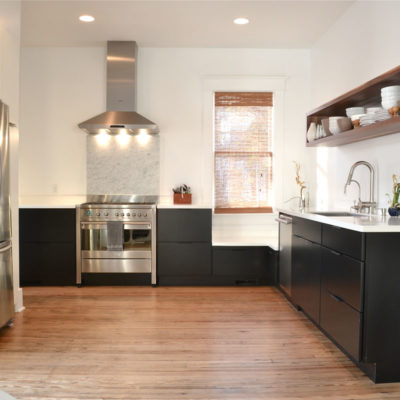 renovated-black-and-white-kitchen-walnut-shelving-savannah